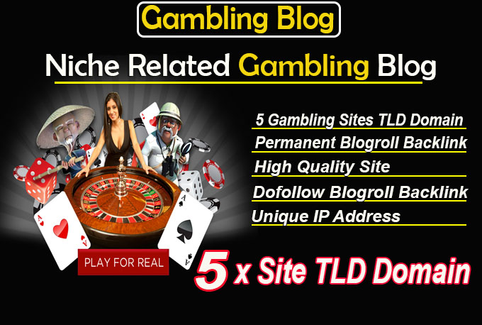 give link 5 site gambling tld blogroll permanent