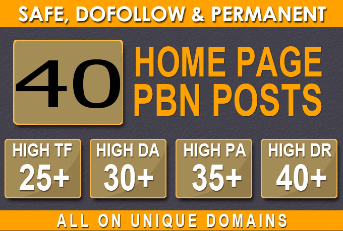 Build 40 PRIMIUM WEBSITE 2.0 PBN DA BACKLINKS 30+ DA and 40+ PA pbn in Unique 40+ WEBSITE LINK
