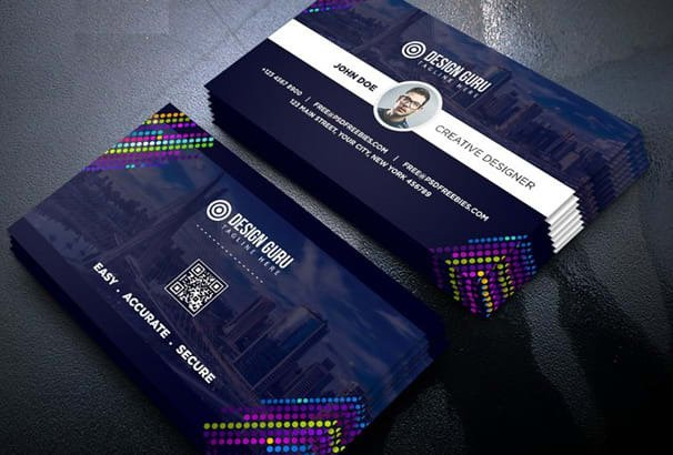 I will do outstanding logo design, business card design