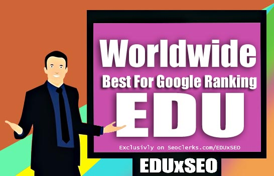 Export 1000 EDU. Gov Backlink on Worldwide edu site