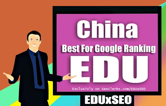China Based 400 EDU GOV permanent Backlink