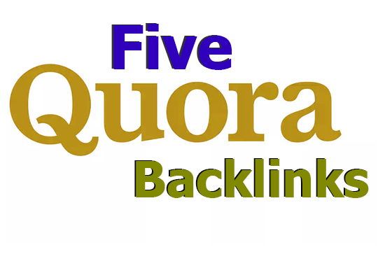 Promote your busiess with 5 HQ Quora back-links from high traffics profilr