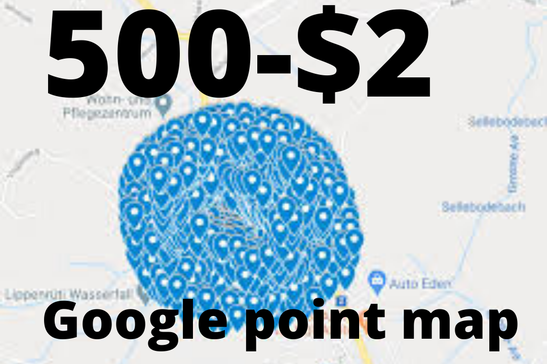 Get 500 Google point map citations listing by seo experts