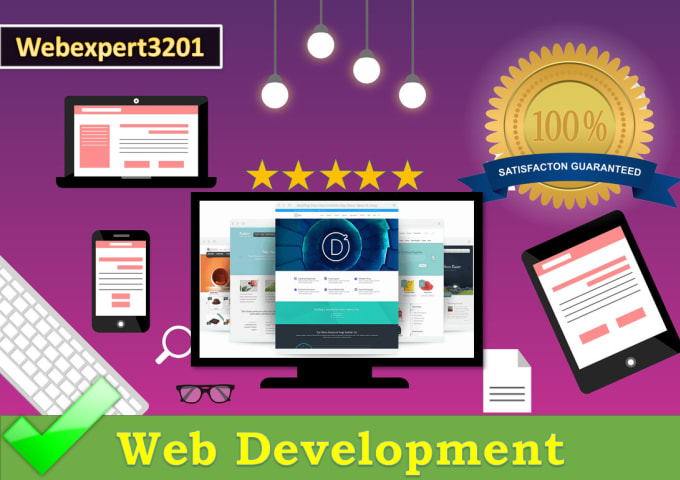 I will build a complete responsive wordpress website.