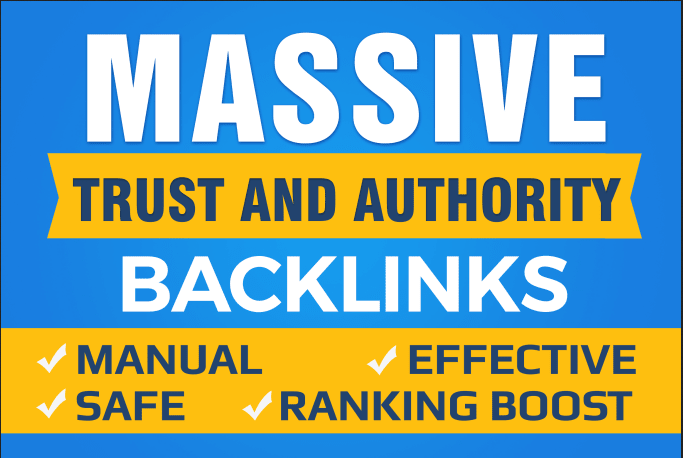 Do Google SEO With Manual High Authority Backlinks And Trust Links