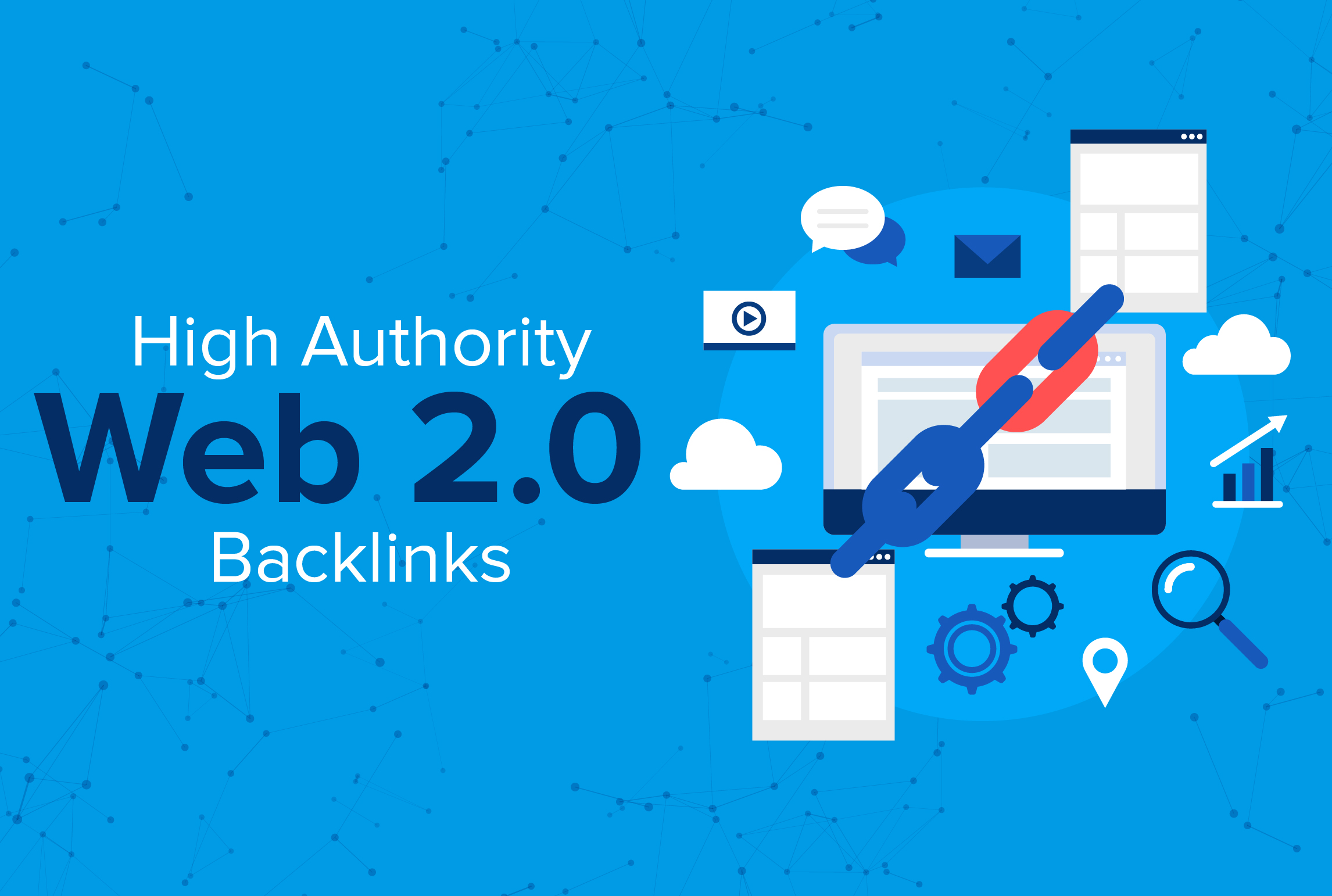I will manually do 15 HIGH DA Web2.0 backlinks