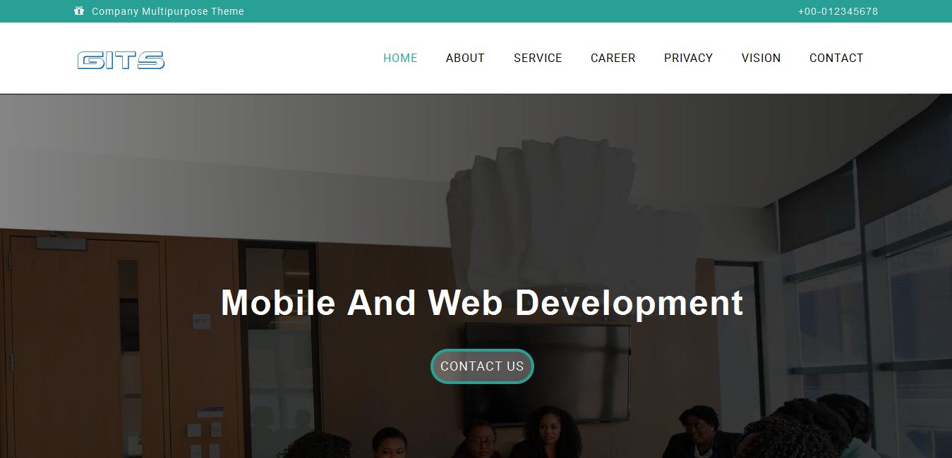 Company multipurpose theme & IT Service