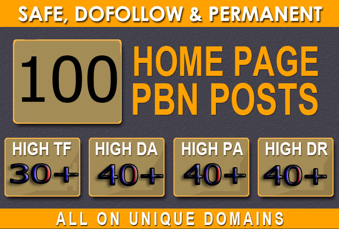 Build Primium 100+ Backlink with DA 40+ PA 40+, DOFOLLOW in your website with 100+ unique websitelink