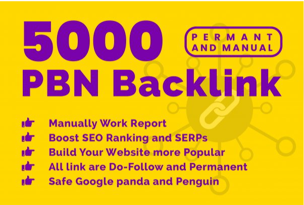 Buy Extream 5000 Permanent PBN Backlink with High DA/PA CF/TF on your Homepage with unique Website