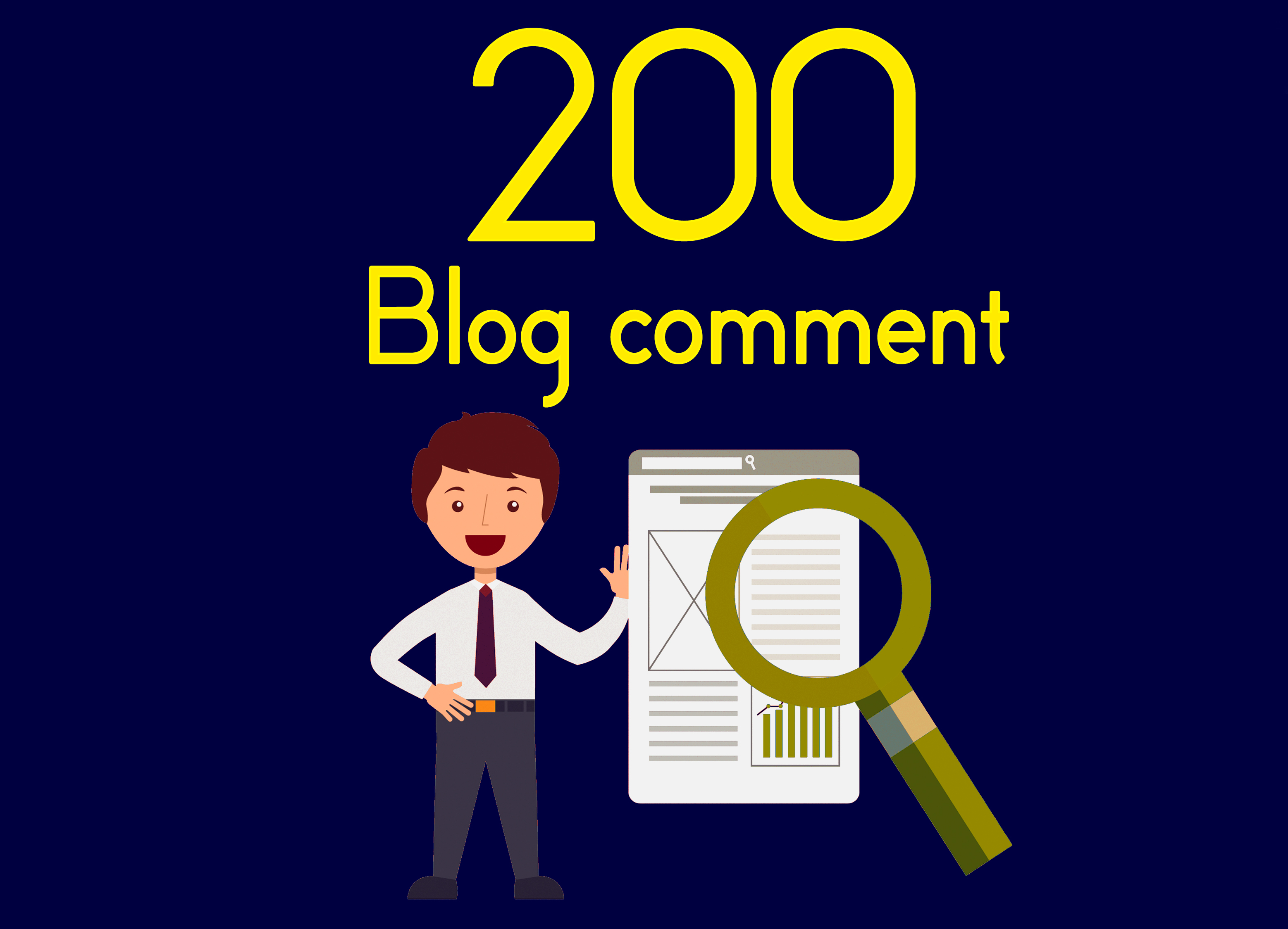 I will do 200 dofollow blog comment low obl quality backlinks