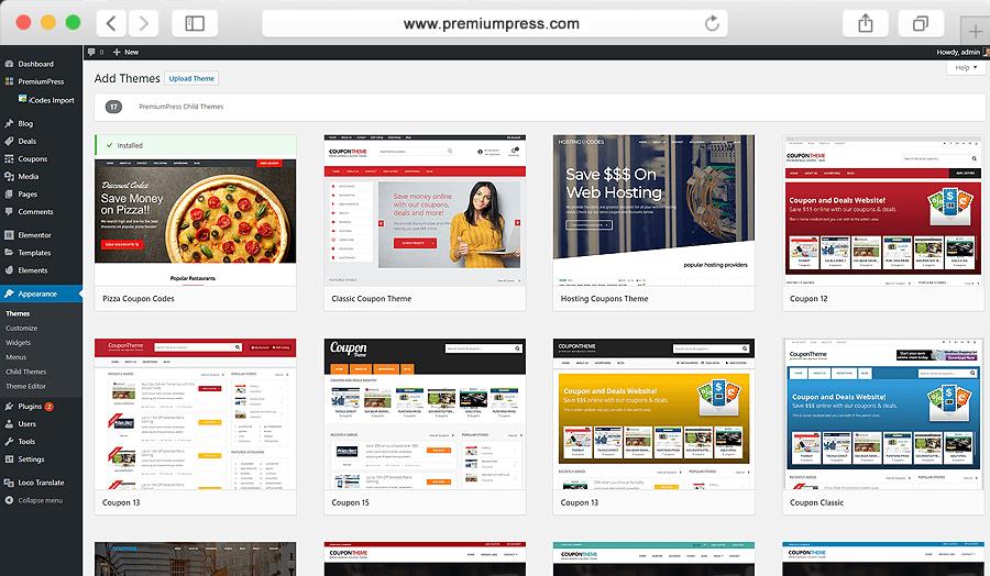 I will create a WordPress website,  WordPress design or blog