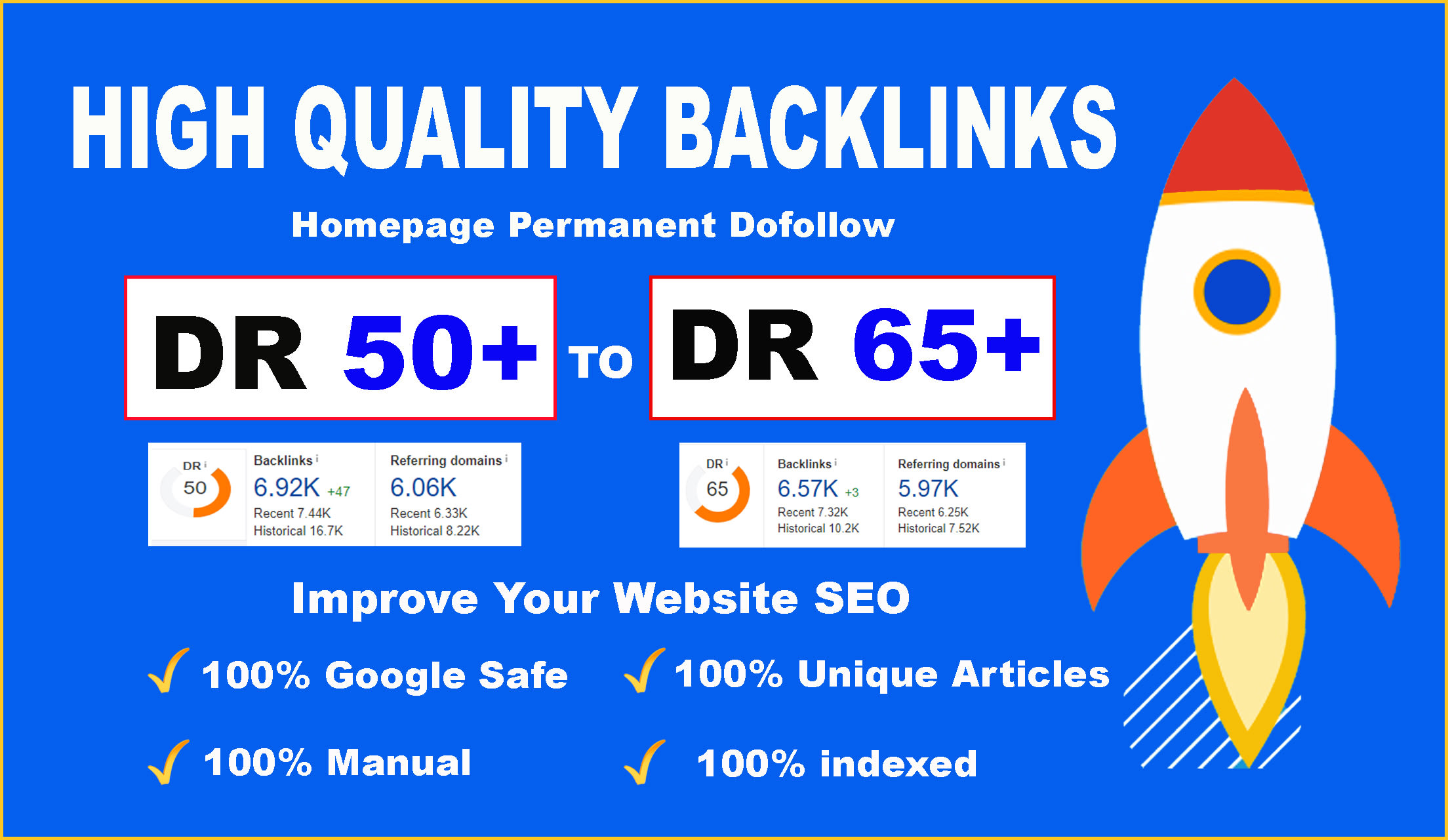 Bluild 5 PBN DR65+high quality homepage dofollow backlinks