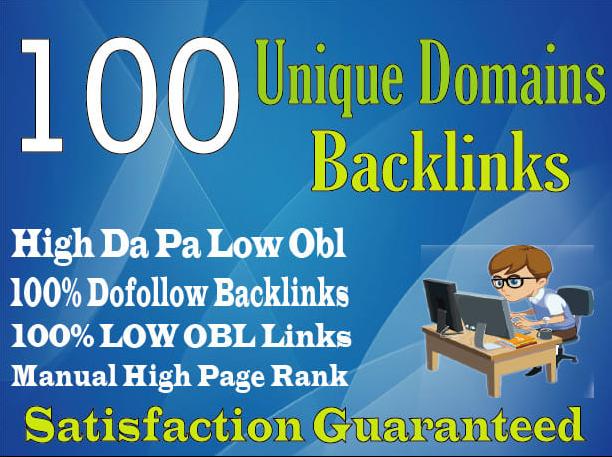 I will create manually 100 niche DA PA TF CF 90+to 50 relevant blog comment