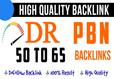 Bluild 5 DR 50 to 65 homepage permanent seo dofollow backlinks ranking