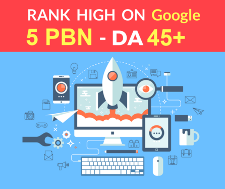 I Will Make 5 Permanent High DA PA Contextual PBN Backlinks high metrics