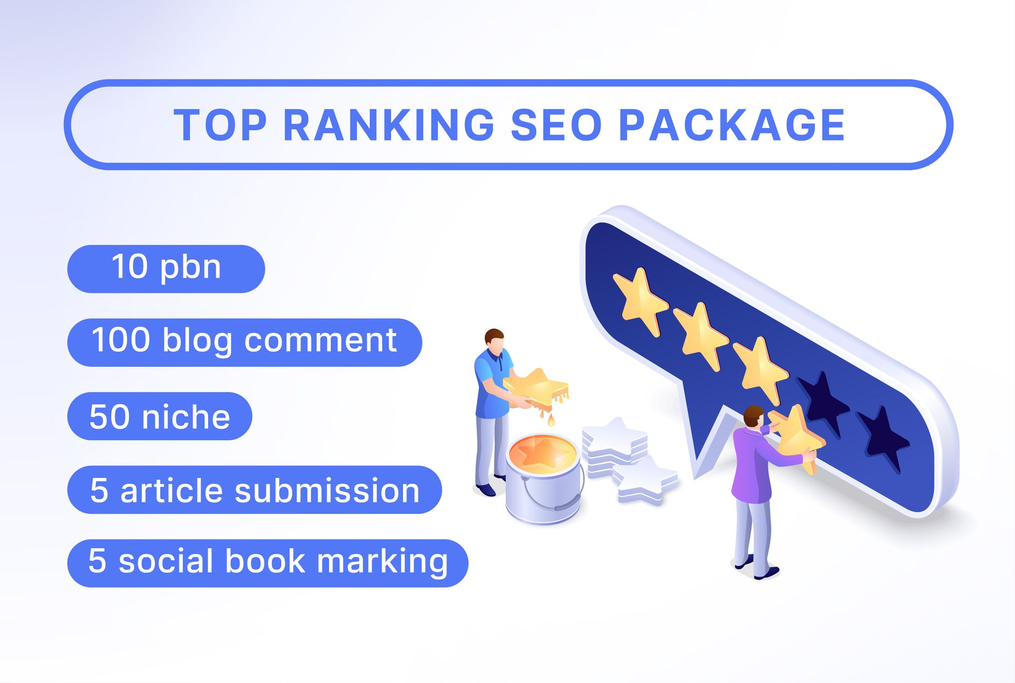 I will provide best top ranking seo package
