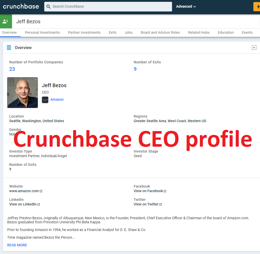 I will Create Crunchbase Profile for you and your Company