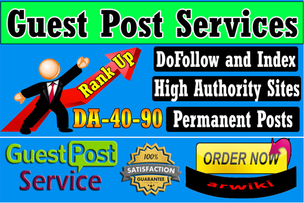I will publish high DA Guest Post backlinks in 24 hours