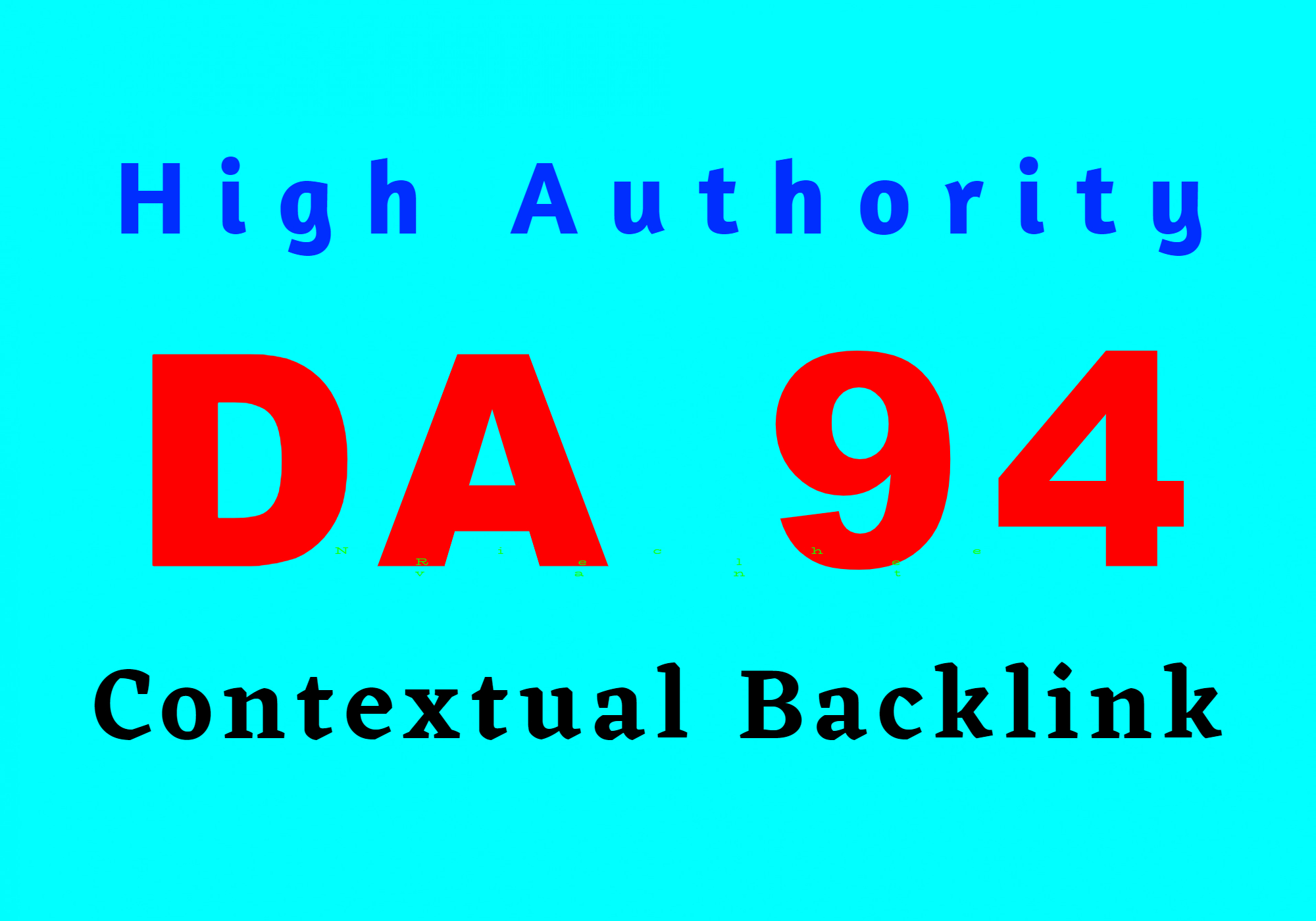 Create high authority niche relevant DA 94 website backlink