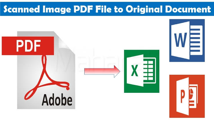 I will convert PDF file to word,  excel and PowerPoint