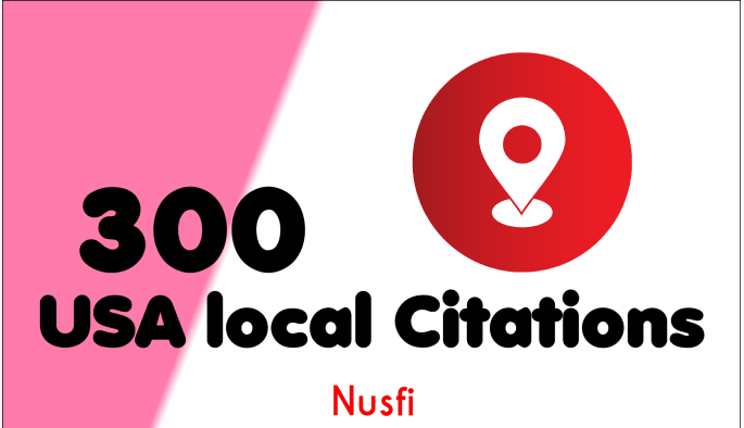 100 live USA local citations and business listings for local seo and Link buidling