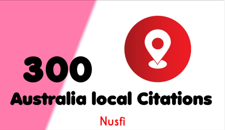 100 Australia Live Local Citations and Directory Submission for local seo