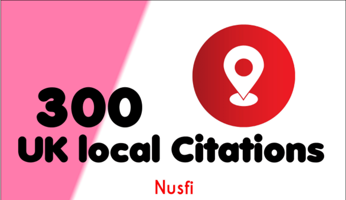 Manually TOP 100 Live UK Local Citations for Local SEO