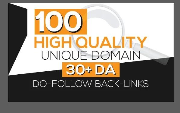 I will provide you 100 pr9 high da seo backlinks