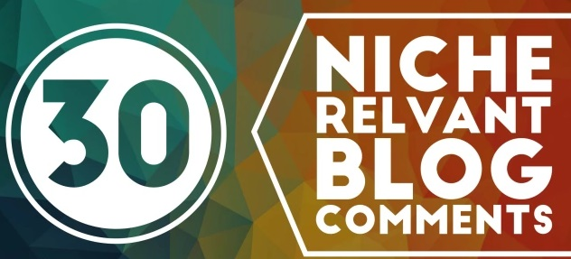 I will do 30 niche relevant blog comment quality work