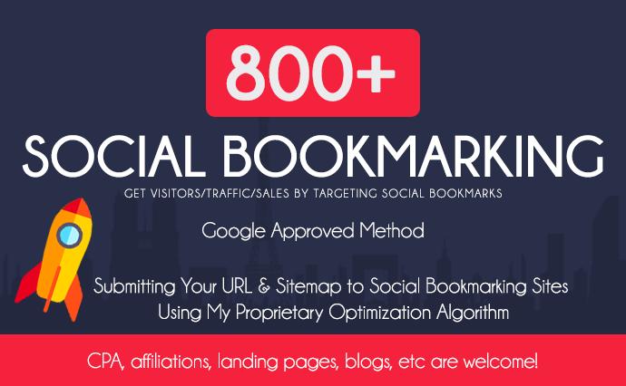 add your website to 800 Social bookmarking websites