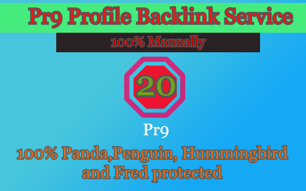 I Will Manually 20 pr9 Top Quality SEO Authority Profile Backlink - Skyroket Your Google Ranking