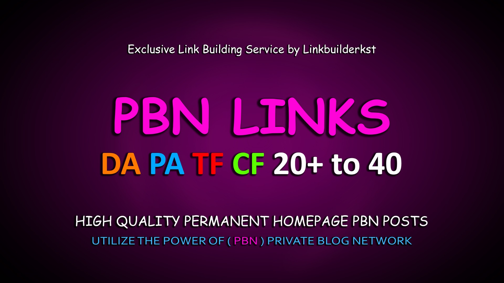 I will do 30 pbn manual homepage permanent pbn backlink with high da pa