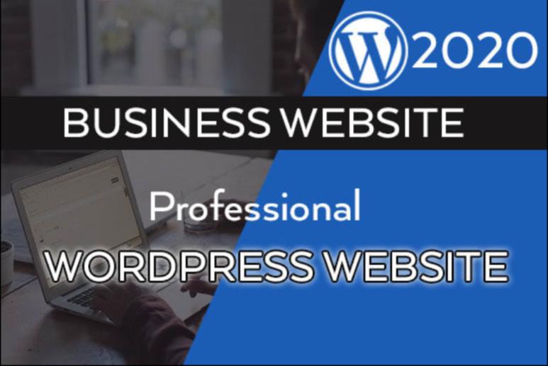 I will create professional WordPress website,  logo design and traffic