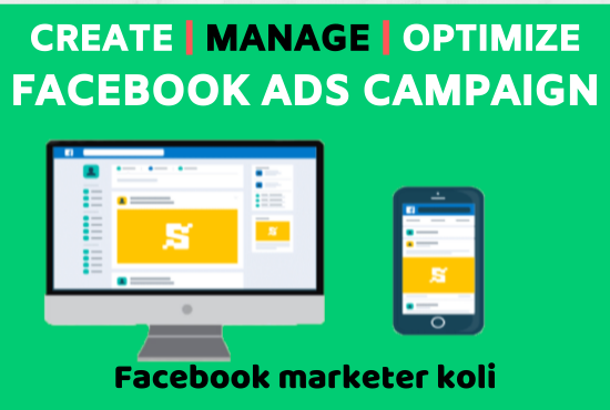 I will create,  run and manage facebook ads campaign