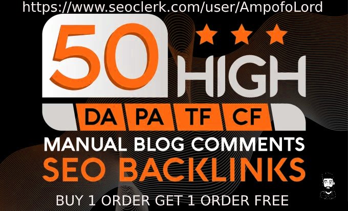 I will do 50 seo blog comments do follow backlinks
