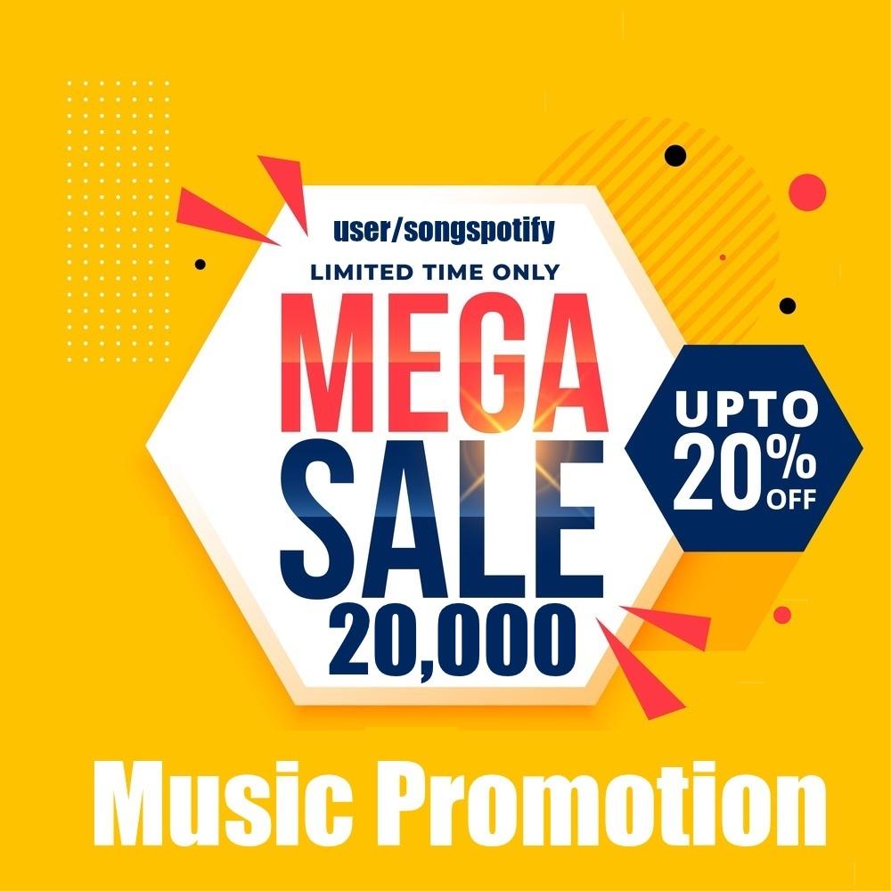 Twenty Thousand Real Safe Music Promotion