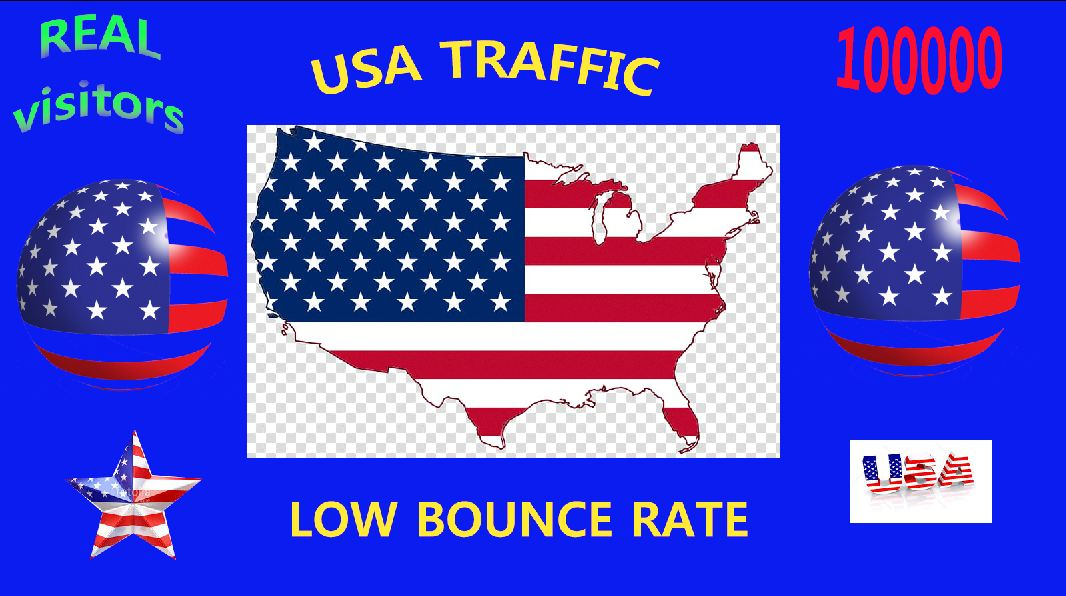 i will drive real traffic visitors from USA