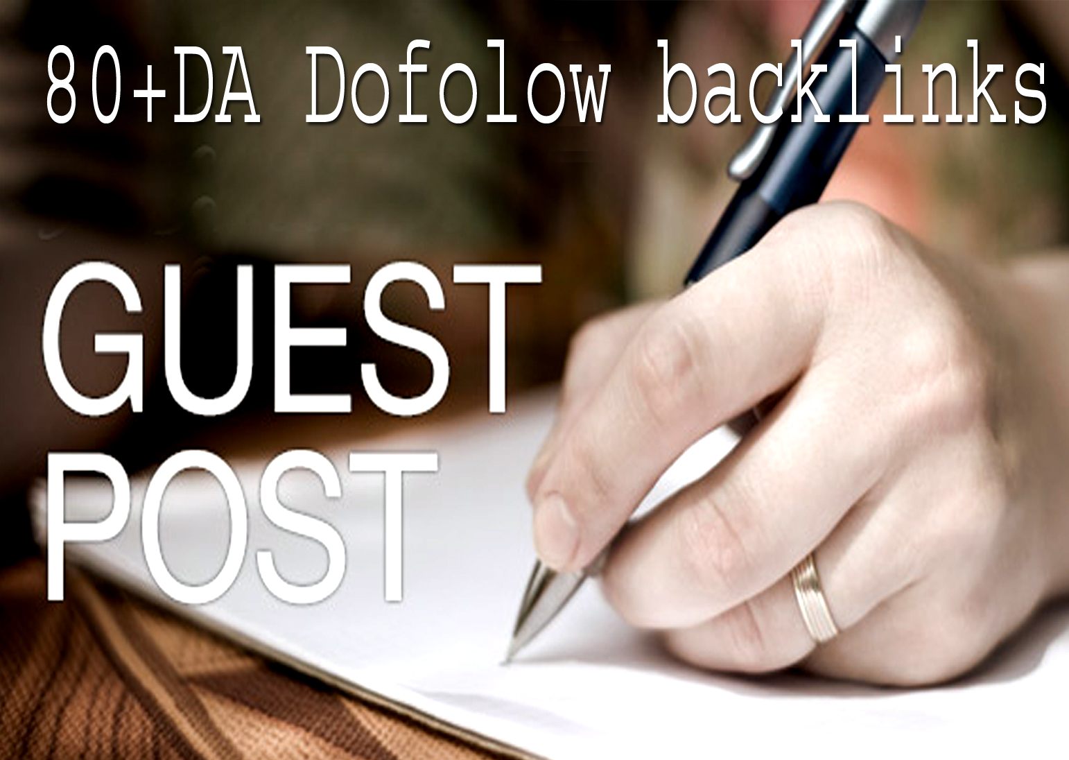 I will publish 5 guest post on high da 80 for google ranking