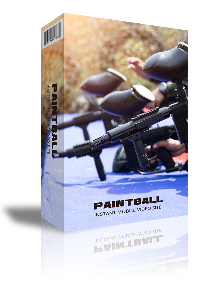 PaintBall Instant Mobile Video Site