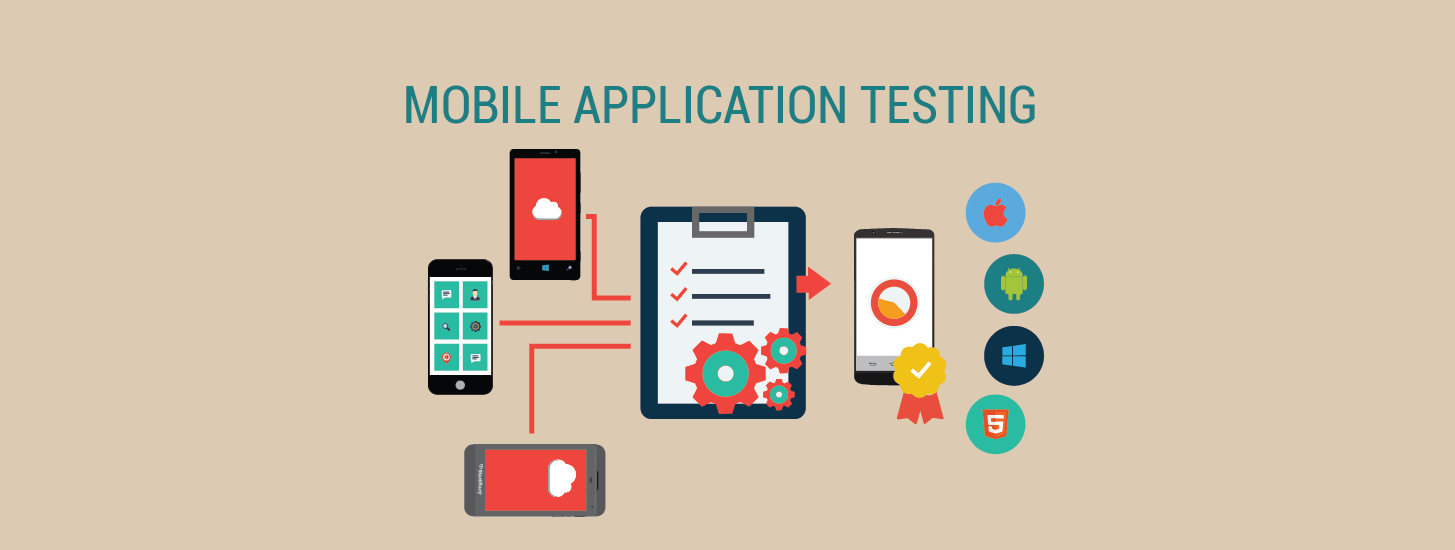Test your mobile app for android or ios