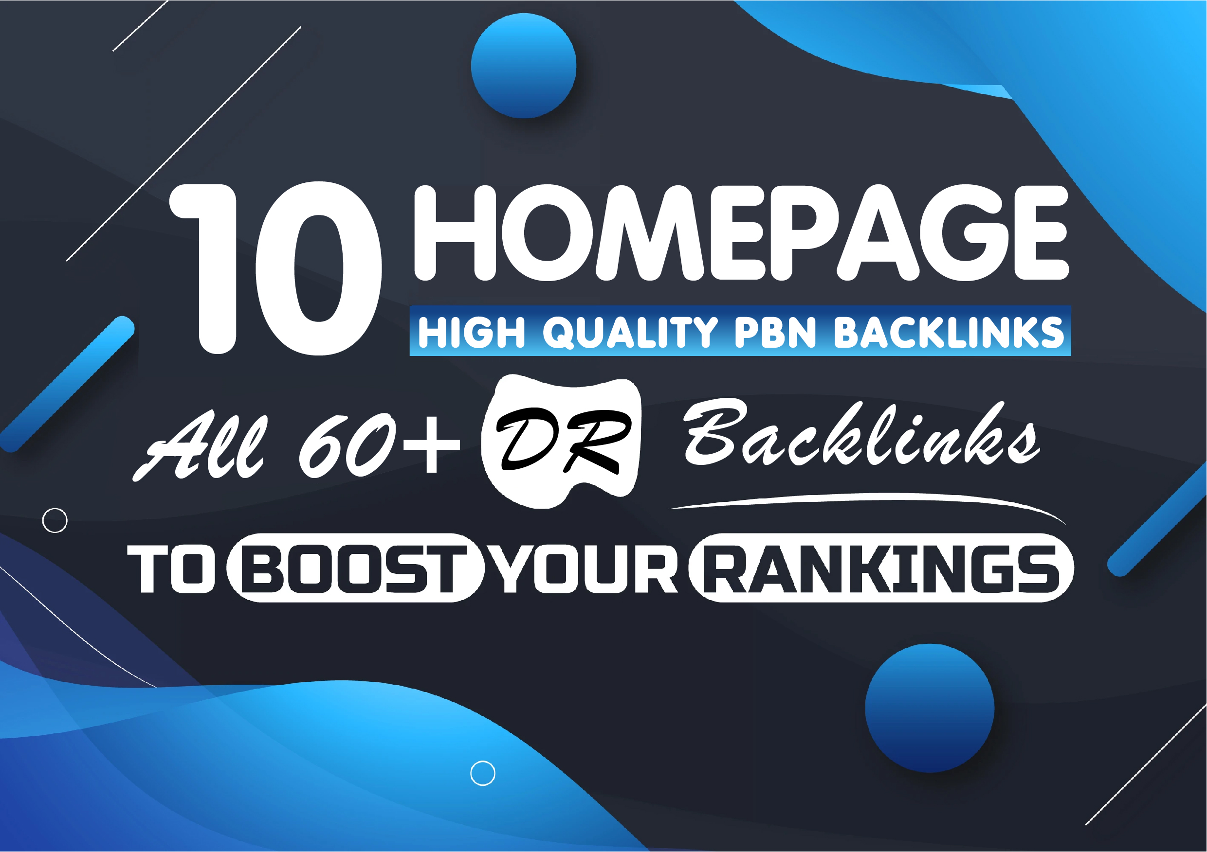 10 High Quality Homepage PBN Backlinks in DR 60+