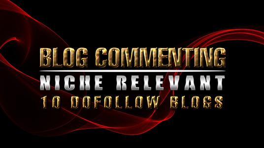Do manually 10 dofollow high quality casino relevant blog comment backlinks