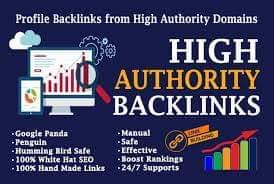 I will create 550 high authority dofollow backlinks