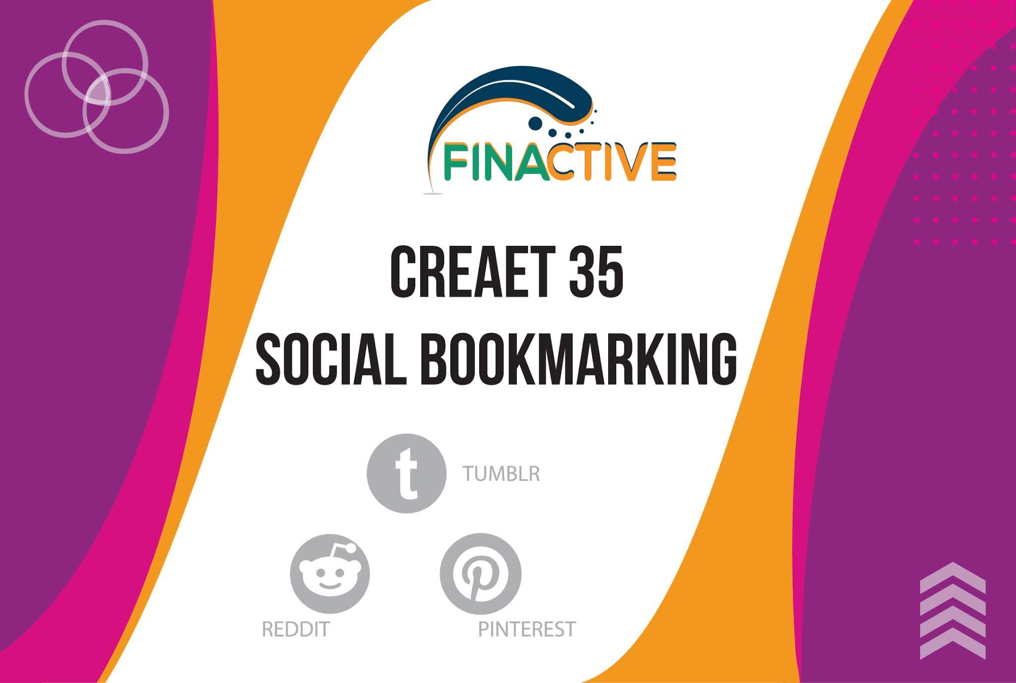 Create 35 Social Bookmarking for your website