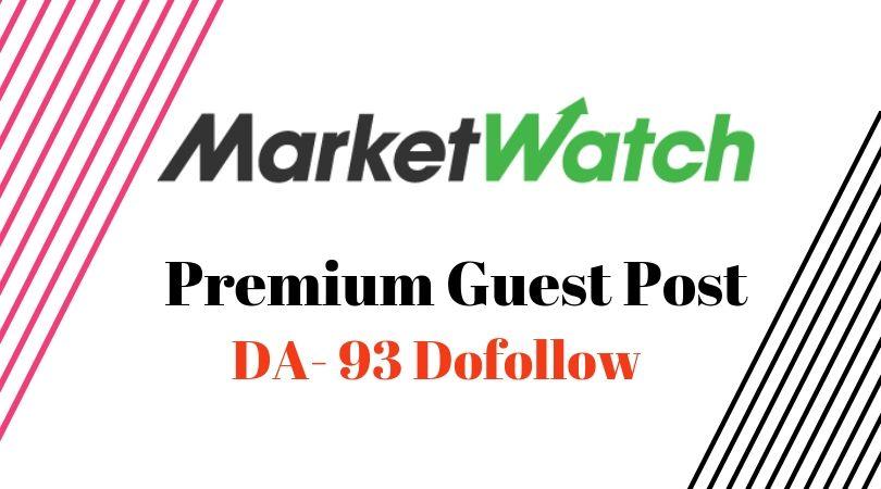 Write & Post On Marketwatch. com DA93