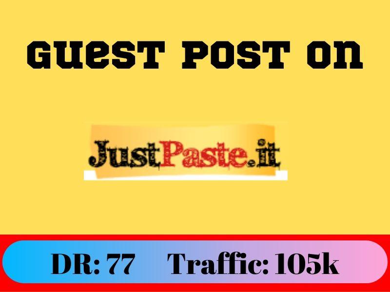 Guest Post On Justpaste. it DA90 DR77 Permannet Post