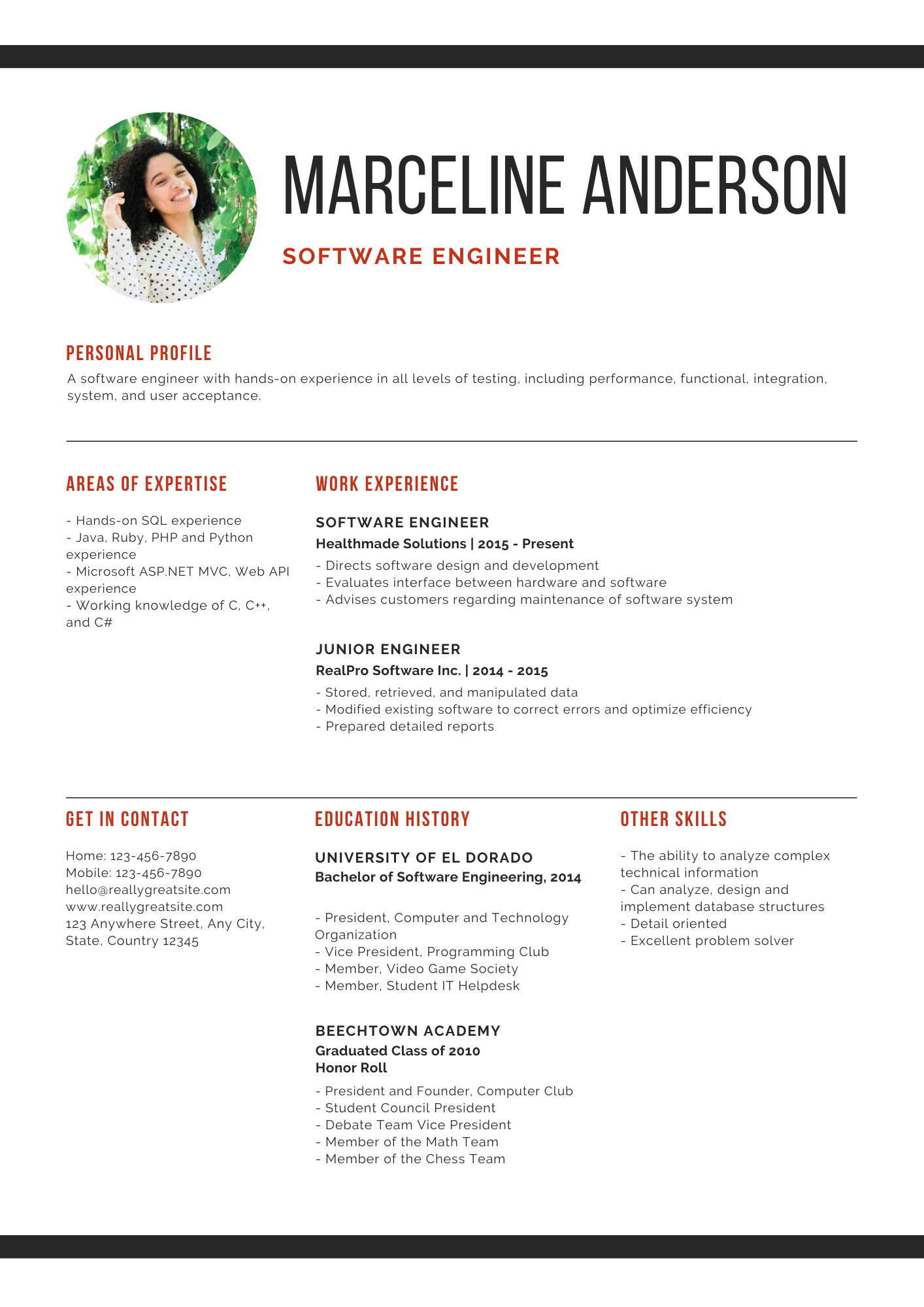 I will rewrite your resume to look professional