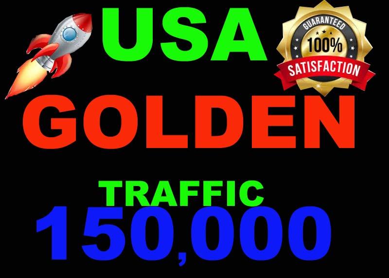I will drive USA GOLDEN traffic 150000 visitors