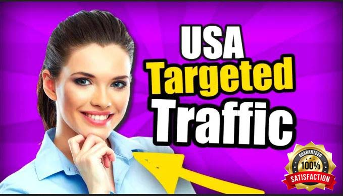 I will send USA targeted Adsense safe organic traffic