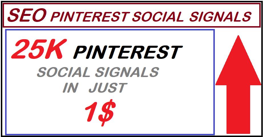 Super offer High PR9 25,000 pinterest seo social signals bookmarks